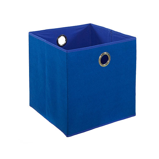CUBO BLUE FELT BOX