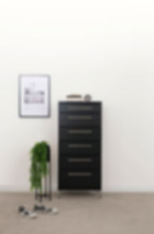 Aza Black Bedroom Furniture by Platform 10