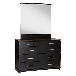 Fox Black Dresser Drawers by Platform 10 Furniture