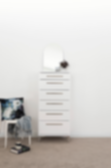 Aza White Bedroom Furniture by Platform 10