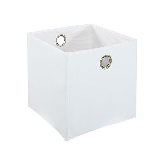 CUBO WHITE FELT BOX