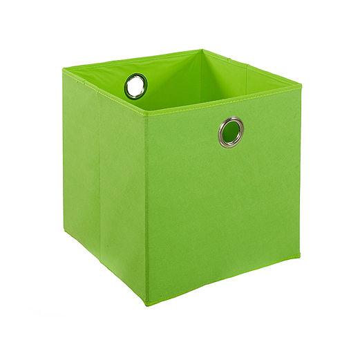 CUBO GREEN FELT BOX
