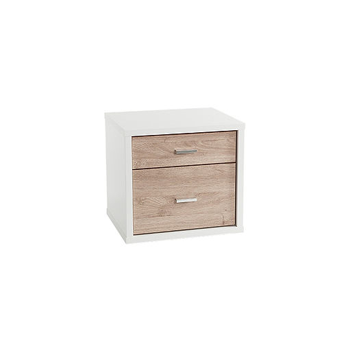 HERO TWO DRAWER BEDSIDE