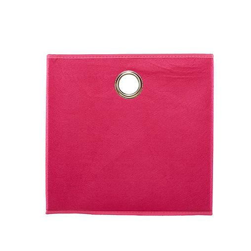 CUBO PINK FELT BOX