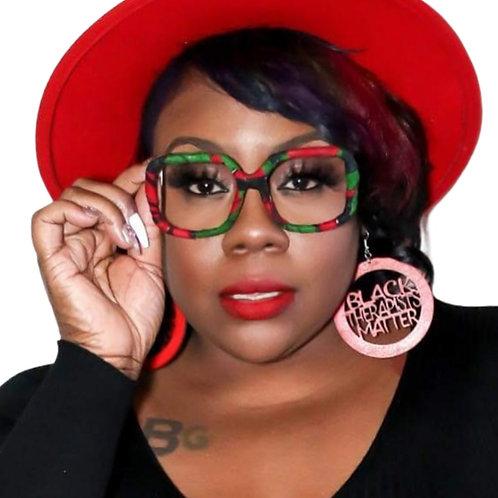 Black Therapists Matter Earrings