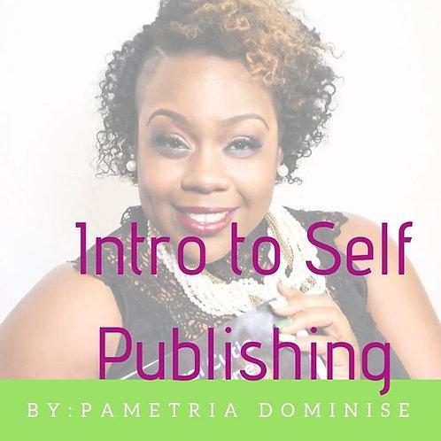 Intro to Self Publishing e-course