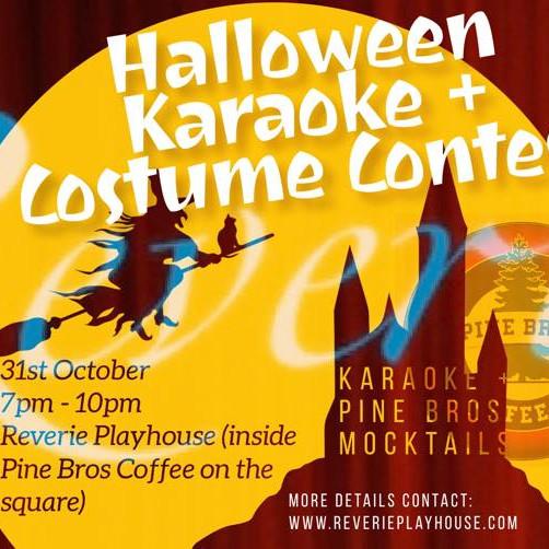 Karaoke + Costume Contest