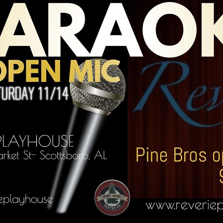 Karaoke + Open Mic!