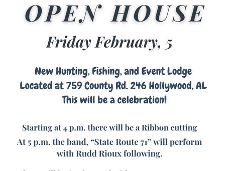 OPEN HOUSE!!!