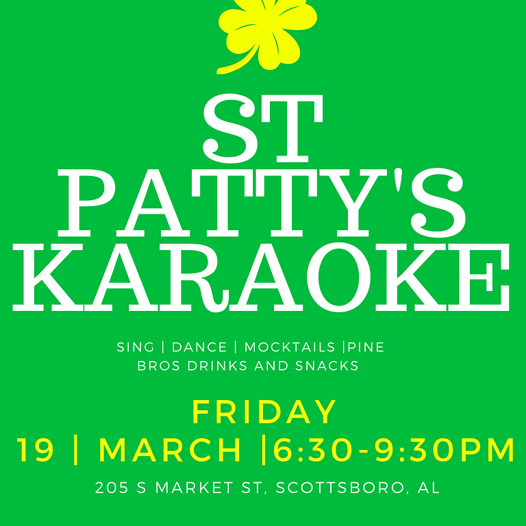 St. Patty's KARAOKE!