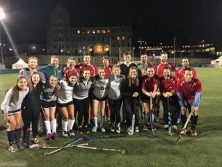 WFHA scrimmages with Georgetown Club Field Hockey