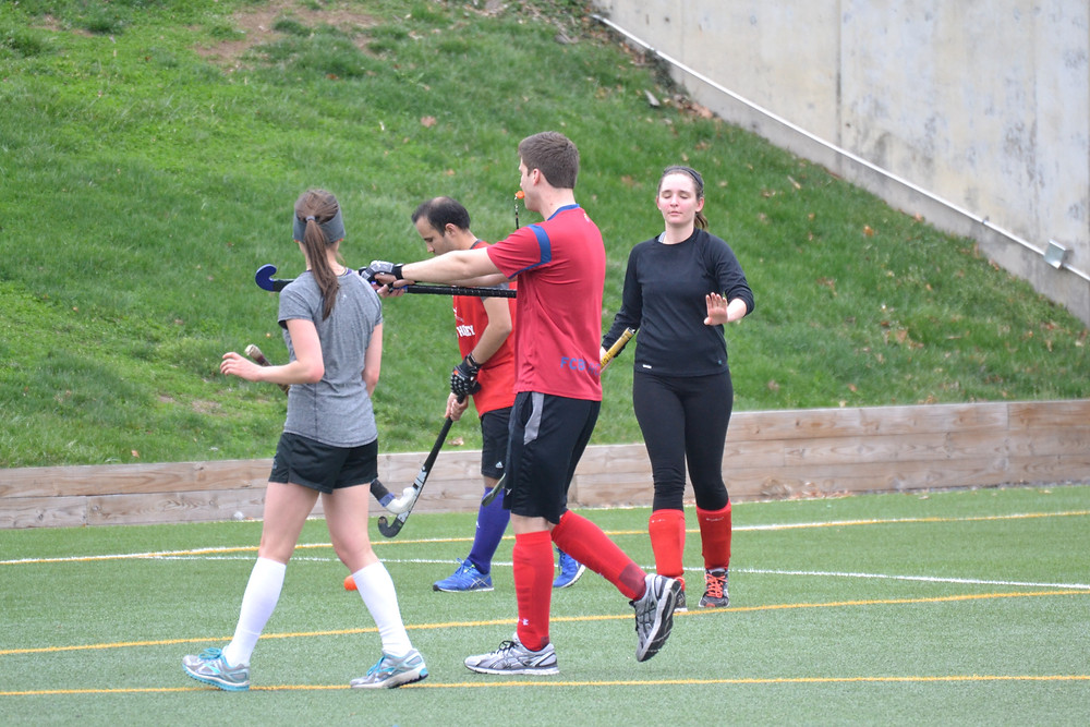 Ryan tries his hand as an experimental player/ref but Haley is having none of it.