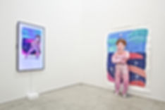 Installation view, Pure Pleasure, Mizuma