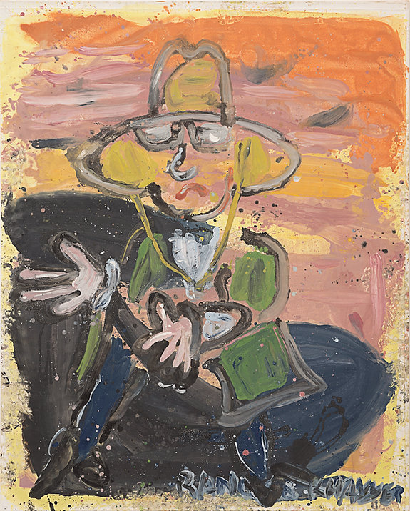 Ranger Khayyer, oil on canvas, 185 x 145