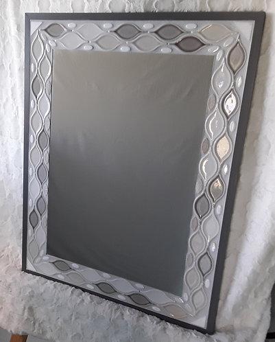 Shades of gray mirror