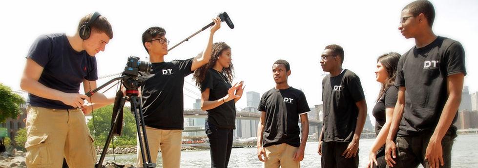 Cinema Production students
