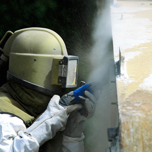 Sandblast Cleaning in Yorkshire, Leeds, Bradford and throughout the UK.