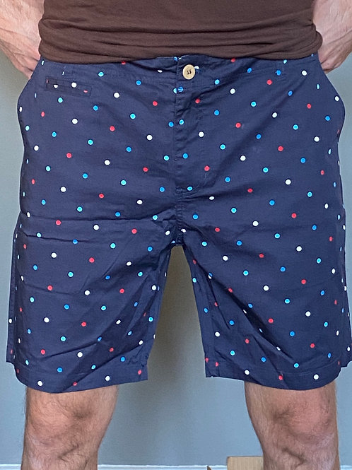 Oxford lads cotton printed shorts