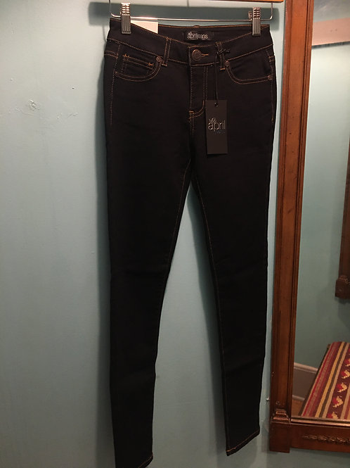 Solid Regular Rise Jeans