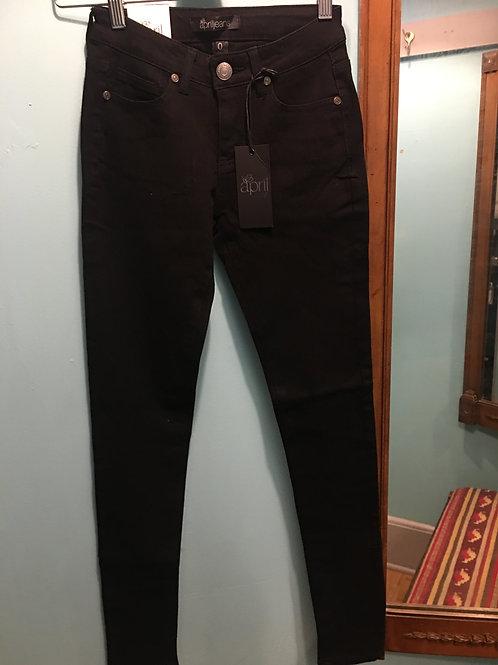 Solid Regular Rise Jeans