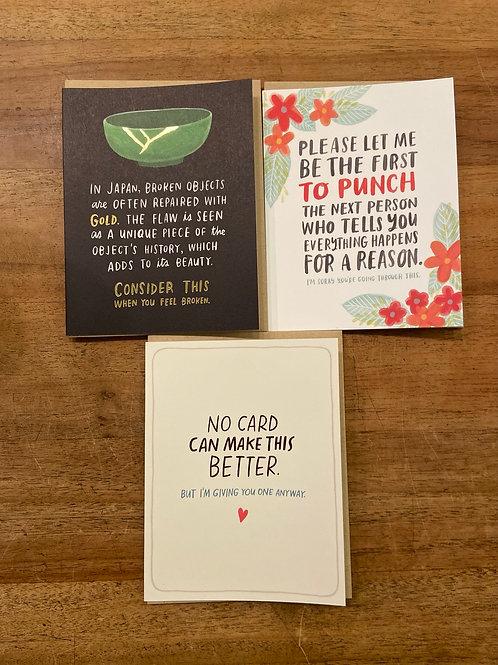 Sympathy card, Emily McDowell