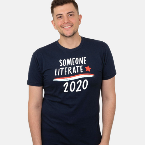 Unisex Out of Print Political Tee