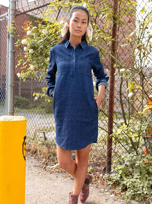 UBB Recycle Denim Dress