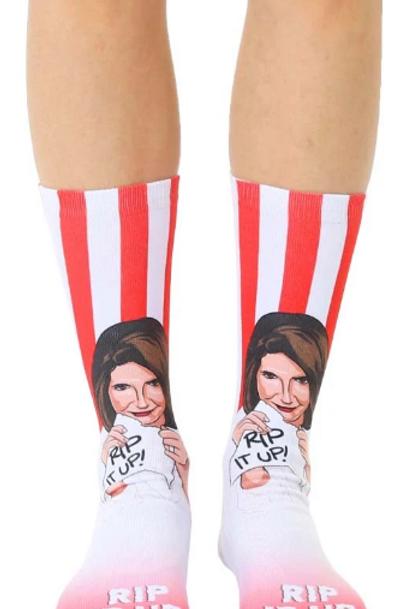 Rip It Up Pelosi Socks