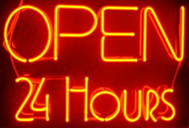 #100 - Open 24 Hours