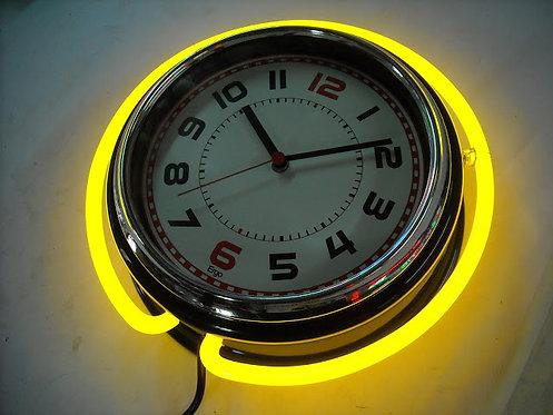 #133 - Neon Clock