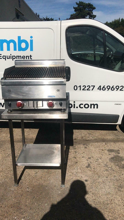 2 Burners Chargrill Gasmax With Stand