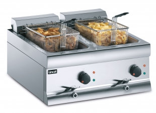 Lincat DF66 Counter Top Twin Basket Fryer