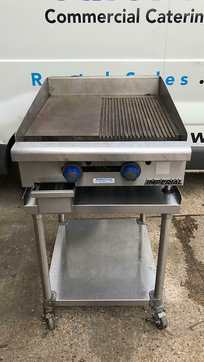 Imperial Gas Griddle with stand