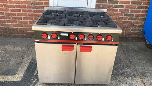 6 Burners Range Oven Bartlett Yeoman