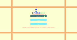 FriendBall Main Menu