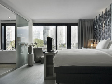 Hotels With A View: Mainport Hotel, Rotterdam