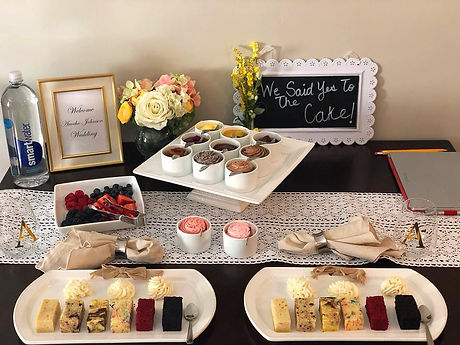 Cake Tastings and Consultation