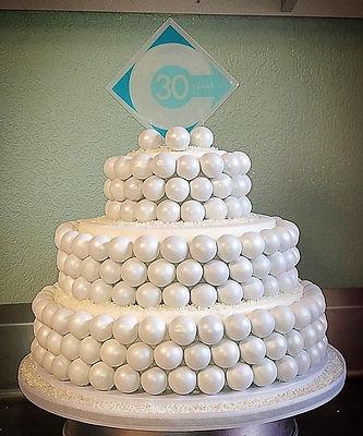 Cake Ball Tiered Cake