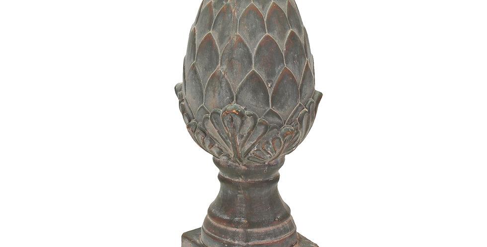 Форма ШИШКА, керамика, коричневый