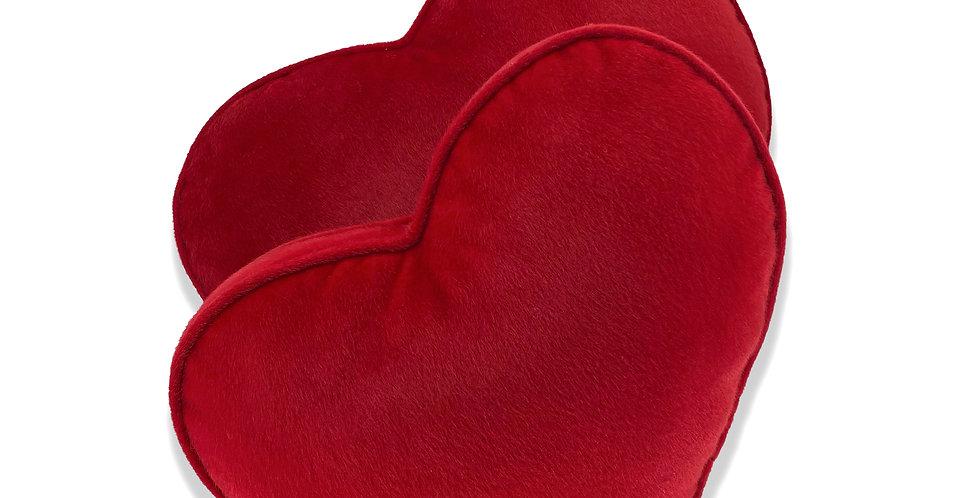 Подушка СЕРДЦЕ, красный
