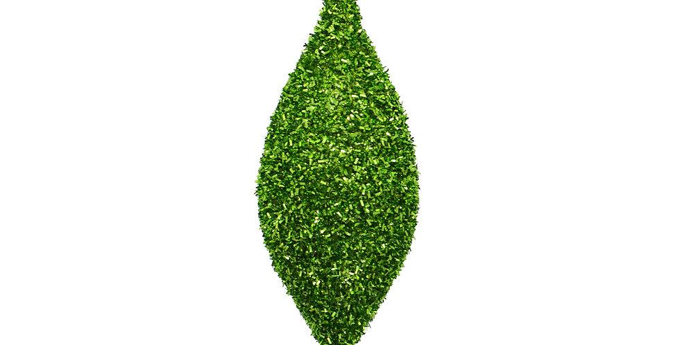 Подвес КАПЛЯ H18 см, пластик, зелёный