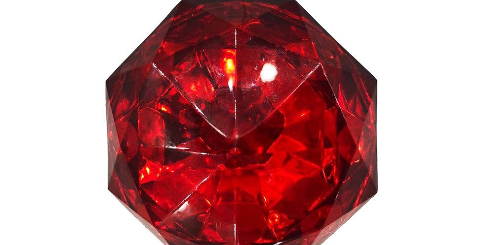 Подвес ШКАТУЛКА 10х13 см, акрил, красный