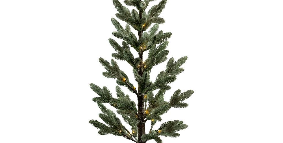Дерево хвойное LED H120 см, металл/пластик, зелёный