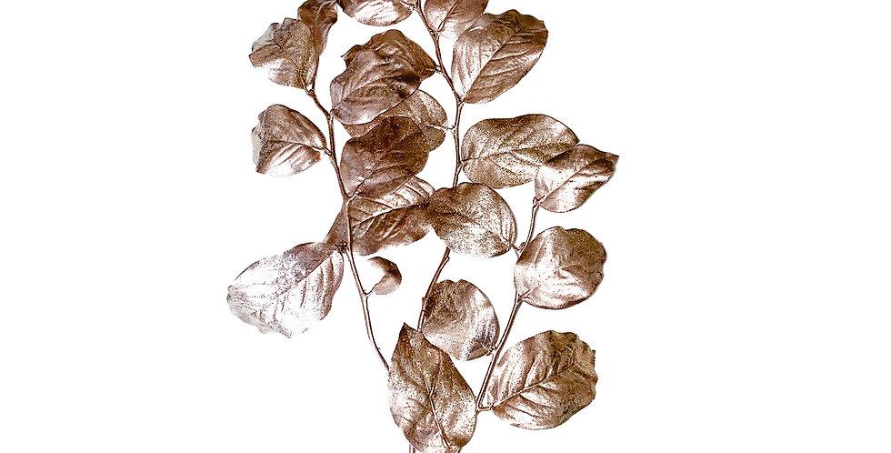 Ветвь гаультерии H112 см, пластик, розовое золото
