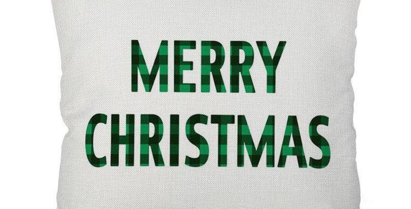 Подушка с принтом Merry Christmas 45х45 см
