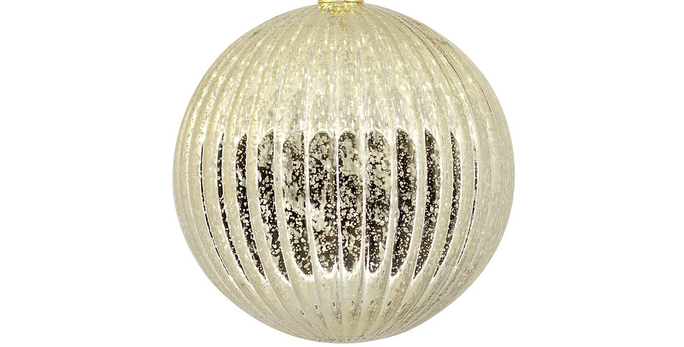 Шар LED, пластик, золотой