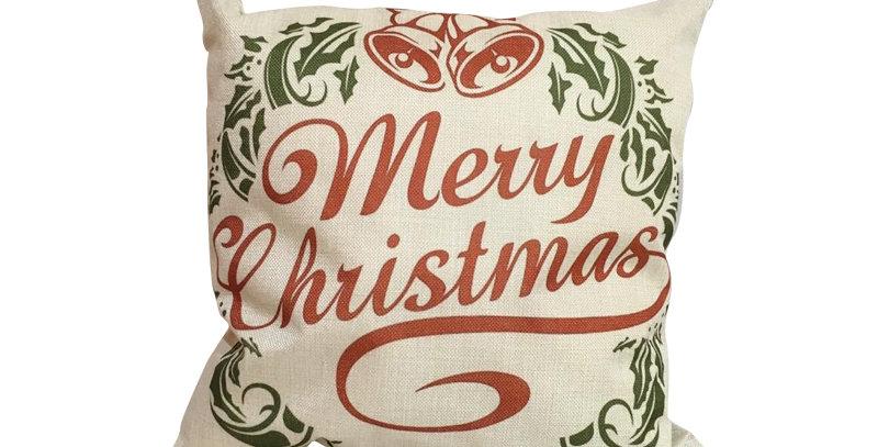 Подушка с принтом Marry Christmas 45х45 см