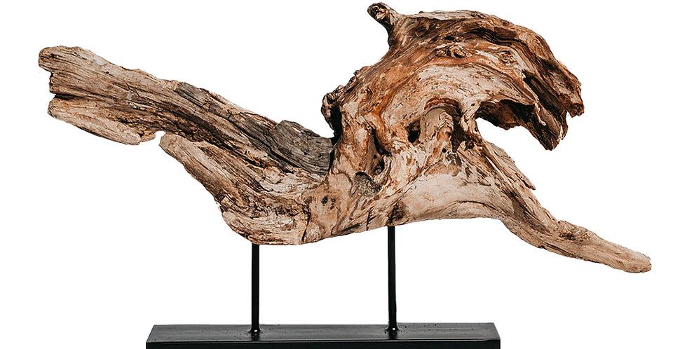 Арт-объект 35х53 см, дерево