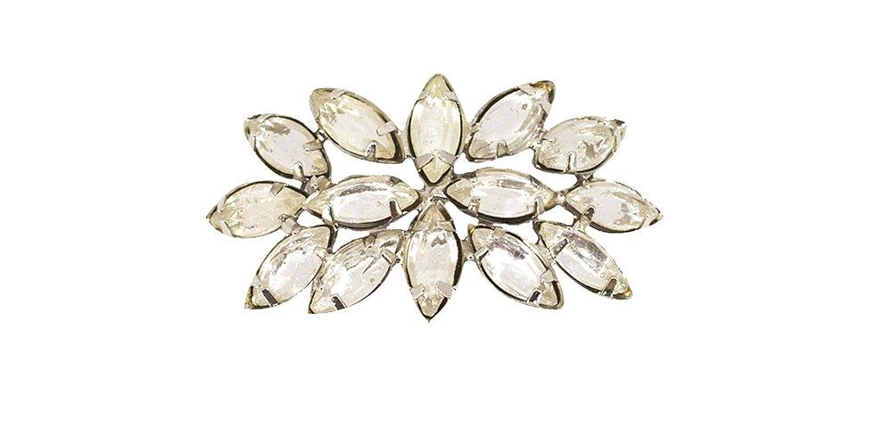 Кольцо для салфетки 6х3 см, металл/стекло