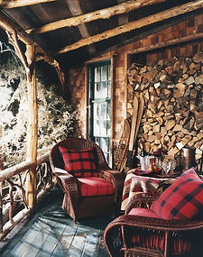 Rustic Natural Cabin-Chic Christmas Styl